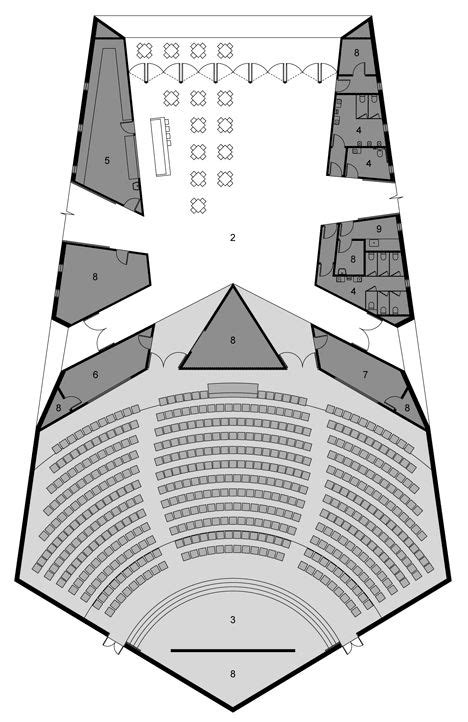 auditorium floor plan dapto anglican church auditorium by silvester fuller church architecture since 1900