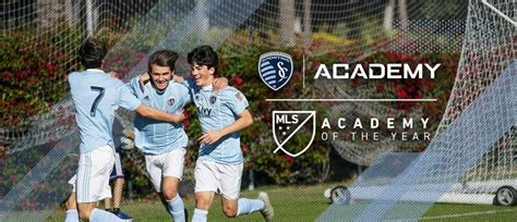 sporting kc academy named  mls academy   year