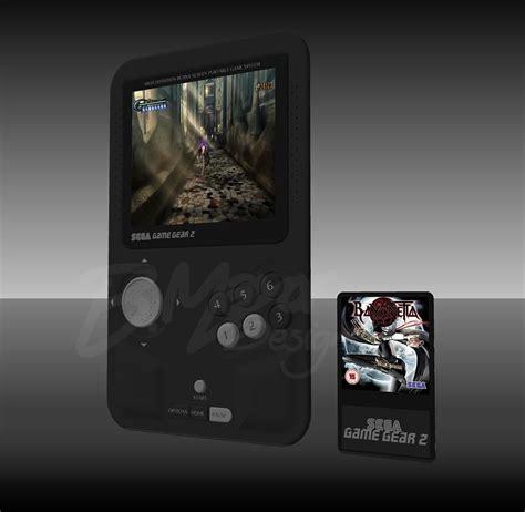 sega new console sega gear 2 is a portable console concept