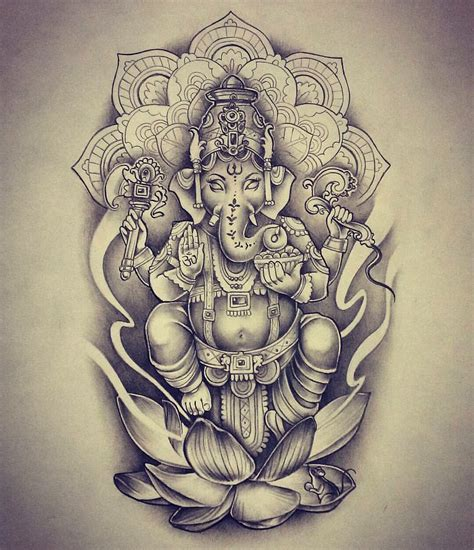 ganesha tattoo hip london tattoo pinterest tattoo ganesha and ganesh