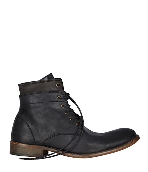 allsaints cropped layer boot in black for mountain