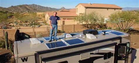 anchor roofing systems arizona rv solar panels or rigid 12 or 24 volt mono