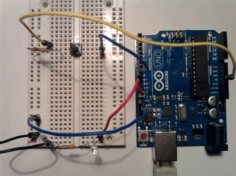 led dioda upor vaja 2 tipka in led dioda elektronika start