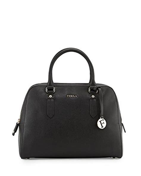 Furla Metro Large furla saffiano leather satchel bag onyx large
