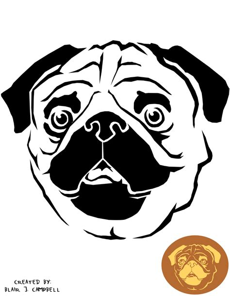 pug pumpkin stencil m pumpkin stencil search results global news ini berita
