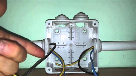 cassette elettriche esterne la cassetta di derivazione collegamenti e spiegazione