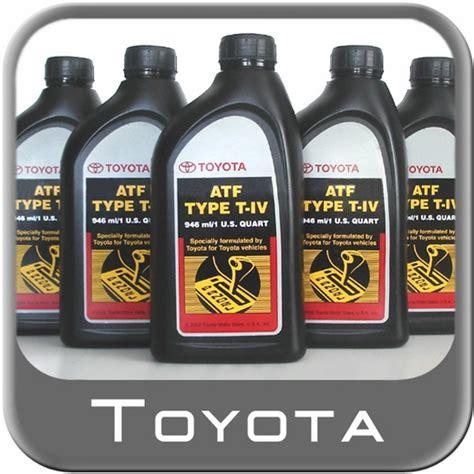 Toyota Transmission Fluid Toyota Automatic Transmission Fluid Type T Iv