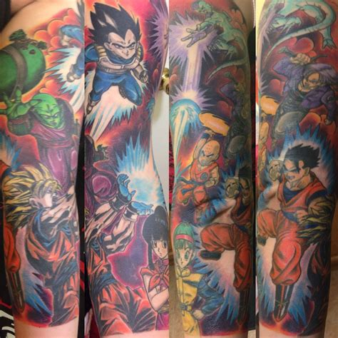dragon ball z tattoo sleeve z sleeve by gabriel mata at true fit