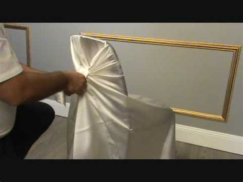 Easy Home Made Christmas Decorations by Chair Covers Youtube