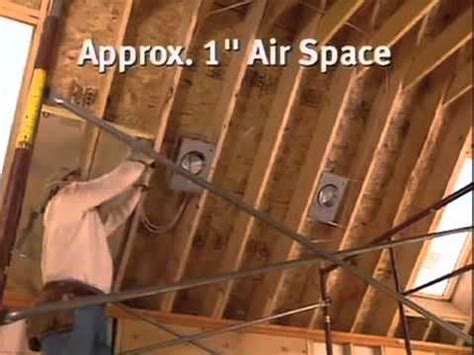 Great Video On Installing Attic Insulation They Even Have How To Insulate Cathedral Ceilings