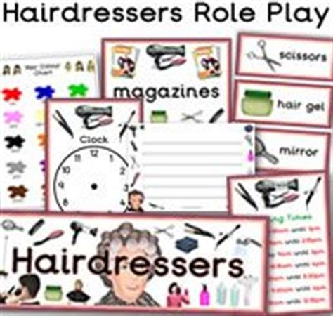 hairdressing games primary 34 best role play resources teaching ideas activities