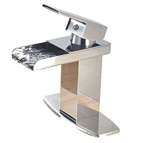 eyekepper waterfall bathroom sink faucets modern single