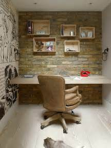 Home Design For Wall Trendy Textural 25 Home Offices With Brick Walls