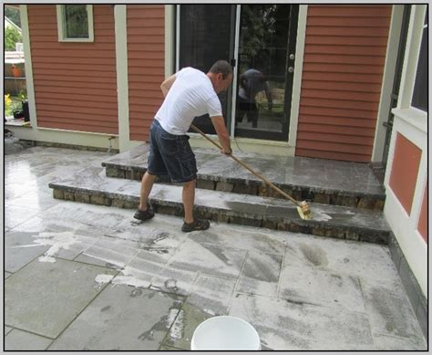how to clean cement patio clean concrete patio patios home design ideas