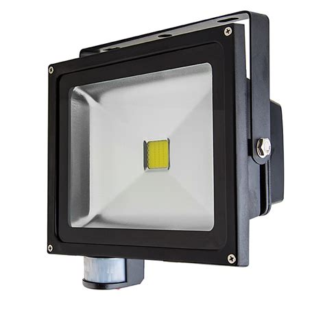 Led Flood Light Fixture 30 Watt High Power Led Flood Light Fixture With Motion Sensor 1 070 Lumens Led Landscape