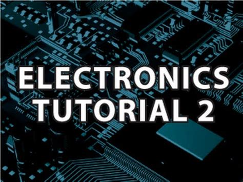git tutorial derek banas electronics tutorial 2 youtube