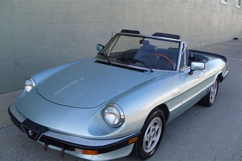 1983 Alfa Romeo Spider by Classic Italian Cars For Sale 187 Archive 187 1983 Alfa