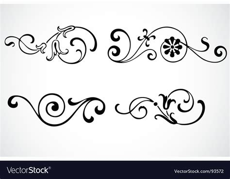 royalty free vector ornamental with 343155995 stock swirl ornaments royalty free vector image vectorstock
