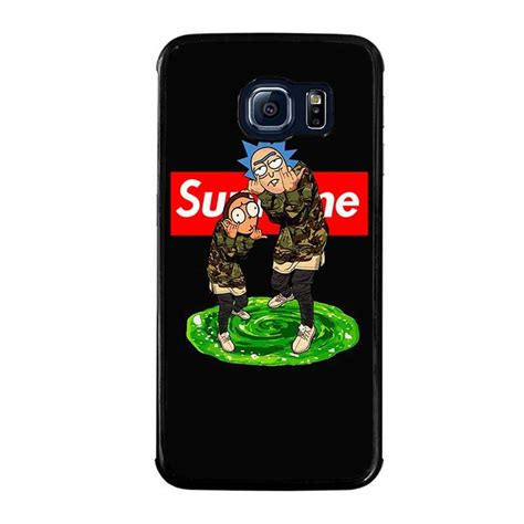rick and morty supreme samsung galaxy s6 edge cover samsung galaxy s6 edge best
