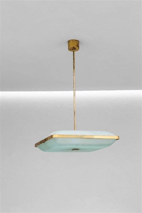 max ingrand 2026 brass and glass ceiling light for