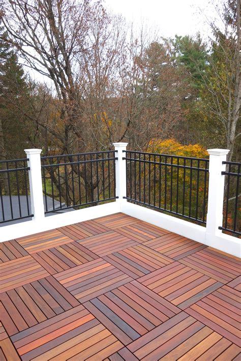 deck flooring ideas  pinterest patio flooring