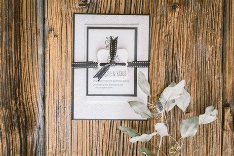 Hochzeitseinladung Letterpress Hochzeitseinladung Letterpress In Black White