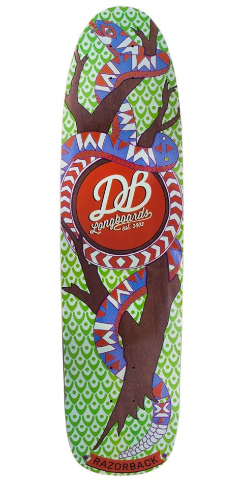 Cruising Longboard Decks by Db Longboards Razorback Longboard Skateboard Deck