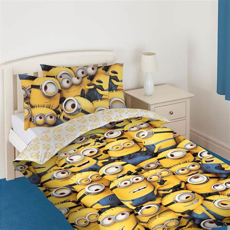 despicable me bed set minions duvet cover bedding sets single double
