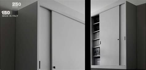 mobili per ufficio armadio ante scorrevoli h cm 250