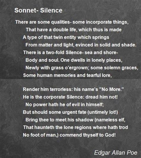 edgar allan poe poems bio sonnet silence poem by edgar allan poe poem hunter