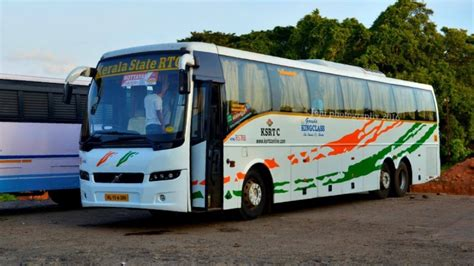 tamilnadu government volvo service kerala state bangalore to kottayam volvo meets with an