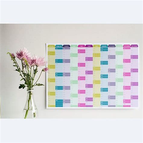 2015 year calendar for daily planning royalty free vector clip art
