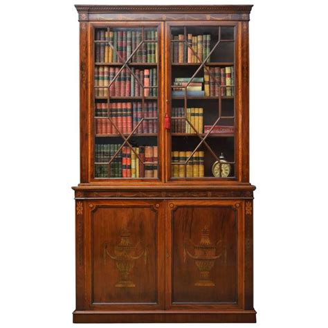 library bookshelves for sale edwardian mahogany and inlaid library bookcase for sale at 1stdibs