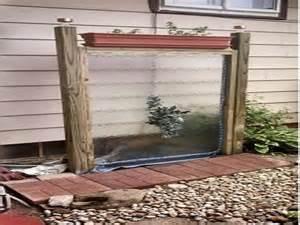 backyard water wall beautiful koi fish 10 diy outdoor wall water diy outdoor water wall