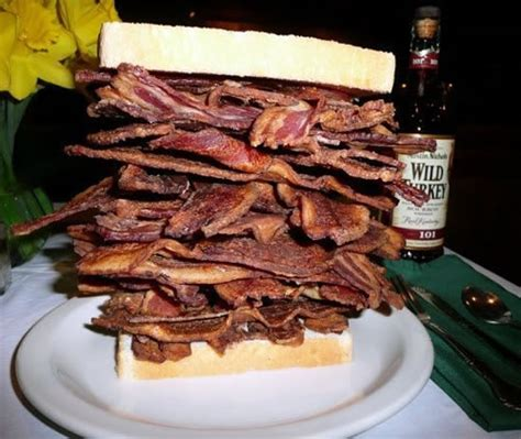 Would You Eat This Sandwich I Did by Melt Bacon Pile Sandwich