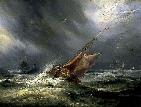 sailing boat in a storm sailing ship painting storm www imgkid the image