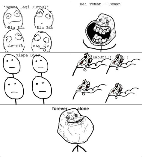 Meme Dan Rage Comic Indonesia - fa forever alone meme rage comic indonesia