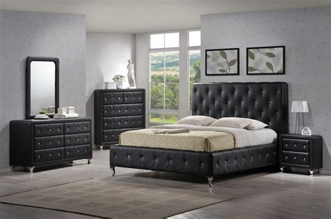 modern tufted black bedroom set black bedroom furniture bedroom furniture sets bedroom
