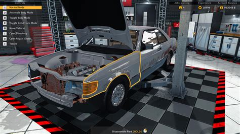 cars mechanic simulator 2018 playway car mechanic simulator 2015 mercedes dlc