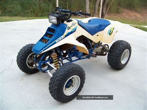 1991 Suzuki 250 Quadrunner 1991 Suzuki Quadracer 250 Ltr