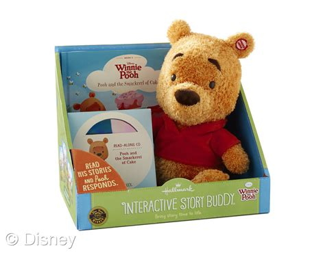animal butties books winnie the pooh interactive story buddy hallmark auto