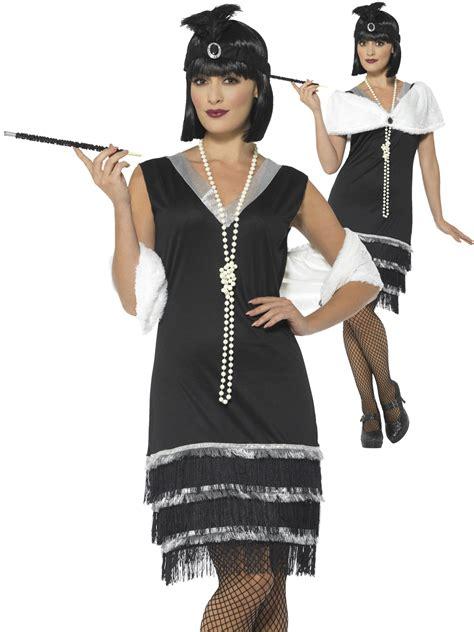 great gatsby themed fancy dress ladies 1920s flapper costume adults charleston fancy dress