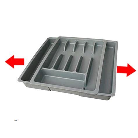 rangement couverts tiroir extensible