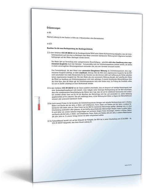 mietvertrag haus muster mietvertrag einfamilienhaus muster als pdf doc downloaden