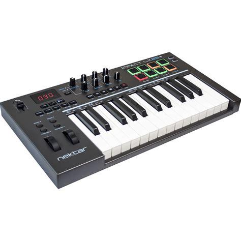 Keyboard Controller nektar technology impact lx25 usb midi controller impact lx25