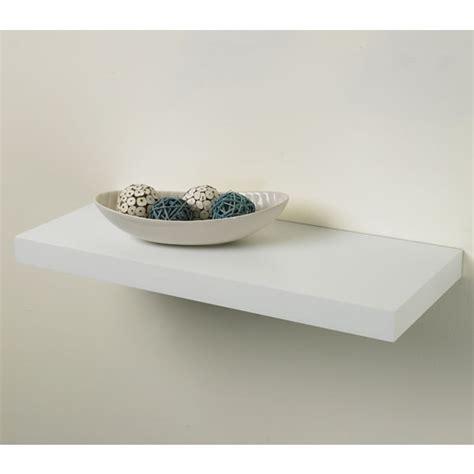 Pratica Tendenza Floating Shelf Kit White 25cm X 60cm At Floating White Shelves