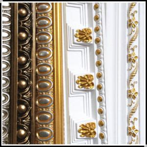 decorative l hs code china plastic cornice moulding crown mouldings for