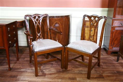mahogany dining room chairs mahogany dining room chairs chippendale chairs
