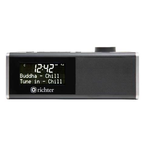 Alarm Digital digital alarm clock radio rr40blk richter audio