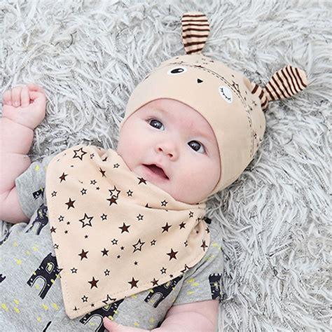 Baby Victory Boy 3y 2 baby boy hat cap saliva towel triangle scarf set toddler costume ebay
